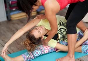 Yoga body aligmnment
